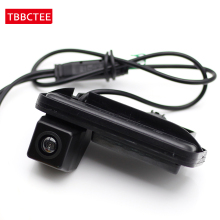 все цены на Camera For Mercedes Benz B Class W246 2012~2015 Car Reverse Rearview Parking Camera Trunk Handle HD CCD Water Proof NTSC RCA онлайн