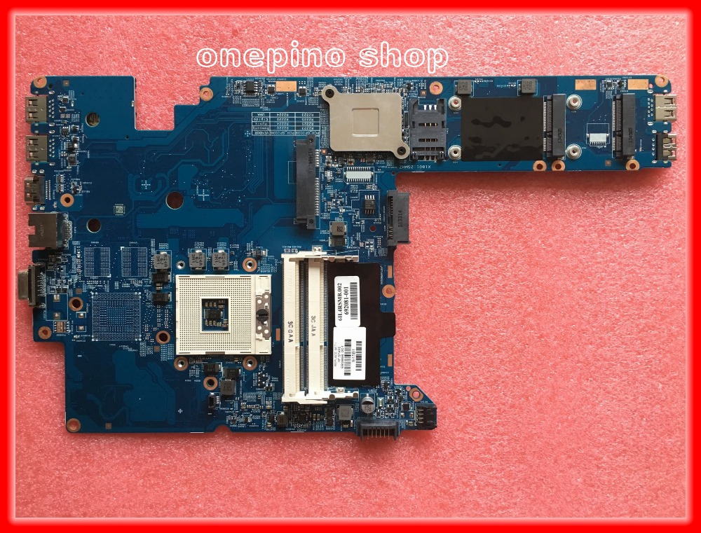 ФОТО Original 683856-001 for HP Probook 4340S laptop motherboard 48.4RS01.011 PGA989 DDR3 100% Fully tested