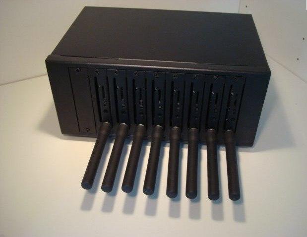 RS232 8 ports sms modem