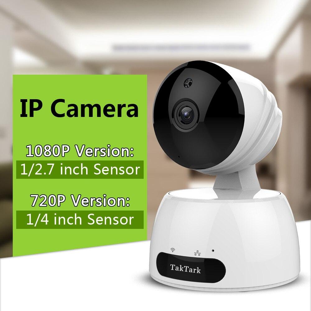 TakTark sans fil HD WiFi IP caméra vidéo surveillance intérieure wi fi bébé moniteur réseau nounou garde nuit sécurité-in Caméras de surveillance from Sécurité et Protection on AliExpress - 11.11_Double 11_Singles' Day 1