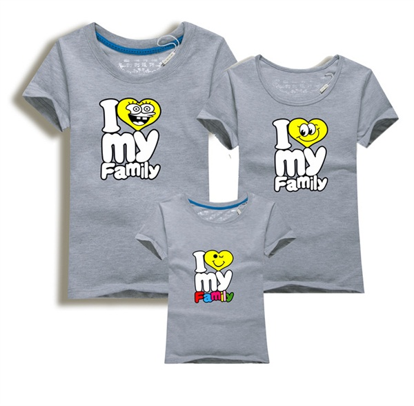 <font><b>Cosy</b></font> Mama Und Kind Set Anpassbare Vater Und Sohn T-Shirt Casual Mama Tochter Set Aktive <font><b>Maxi</b></font> Kleid Charakter mom Und image
