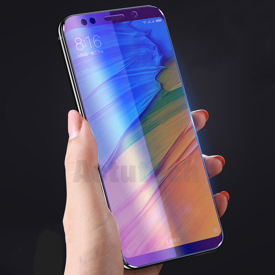 Matte Frosted Tempered Glass For Xiaomi Mi 8 SE A2 Redmi Note 7 5 Pro Global Redmi 5 Plus Max 3 Anti Blue Light Screen Protector in Phone Screen Protectors from Cellphones Telecommunications