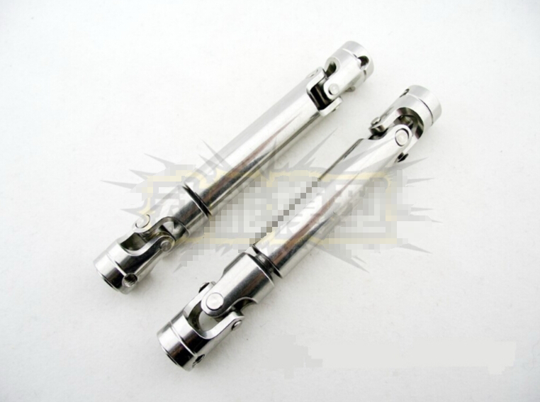 Stainless steel splined metal shaft universal joint