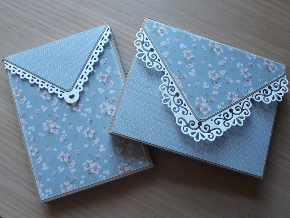 Heart Lace border gift box