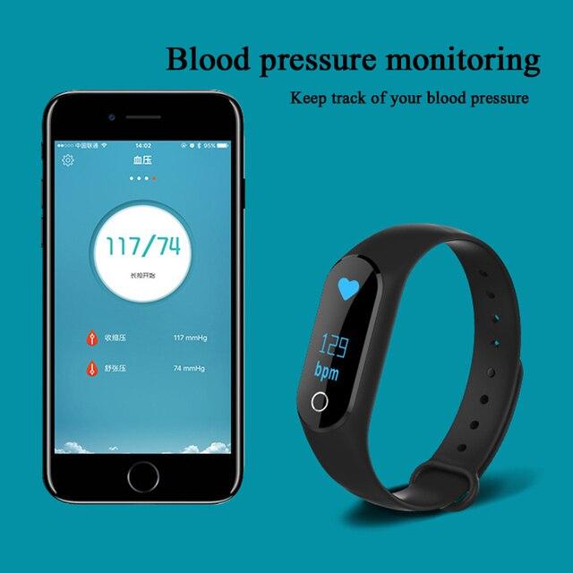 Smart Bracelet Watch Kids Children Watches OLED Display Waterproof Digital LED Sports Watch Child Wrist Bluetooth Smartwatch