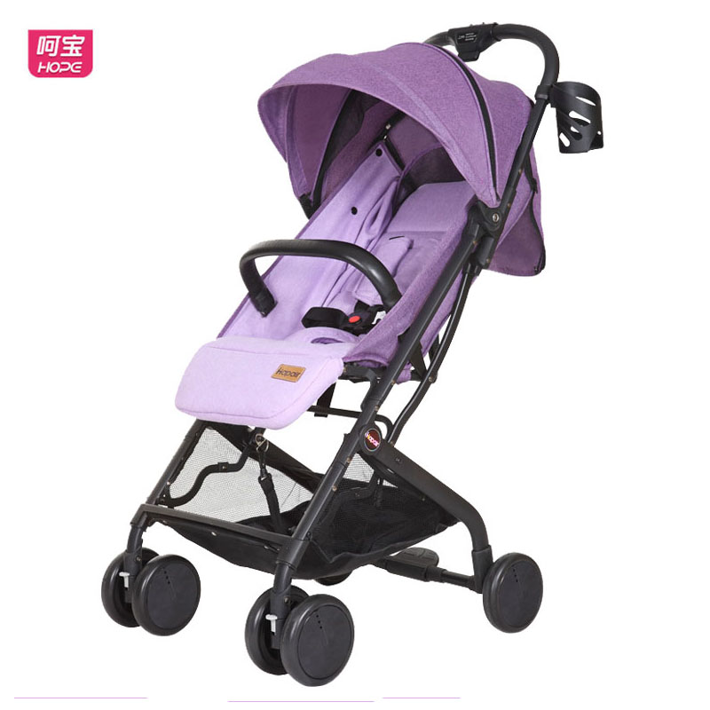 HOPE Baby Trolley Easy Folding Baby Carriage Lie Down Baby Umbrella Car Shockproof High Landscape Quality Baby Pram LightweightHOPE Baby Trolley Easy Folding Baby Carriage Lie Down Baby Umbrella Car Shockproof High Landscape Quality Baby Pram Lightweight