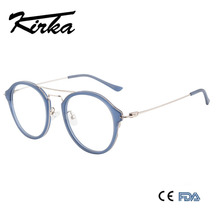 b82968d979 Kirka Round Glasses Frame Men Women Vintage Acetate Prescription Eyeglasses  Myopia