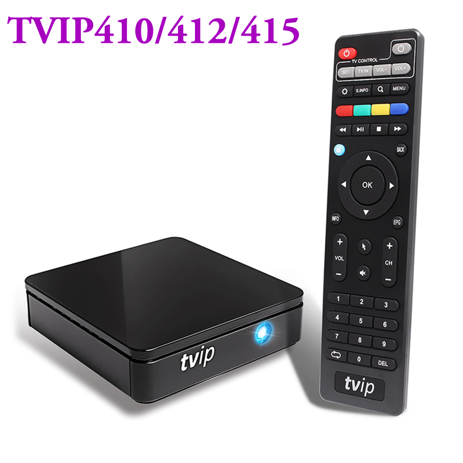 Original mini Set Top Box TVIP 410 412 415 Linux or Android 6 0 Dual System
