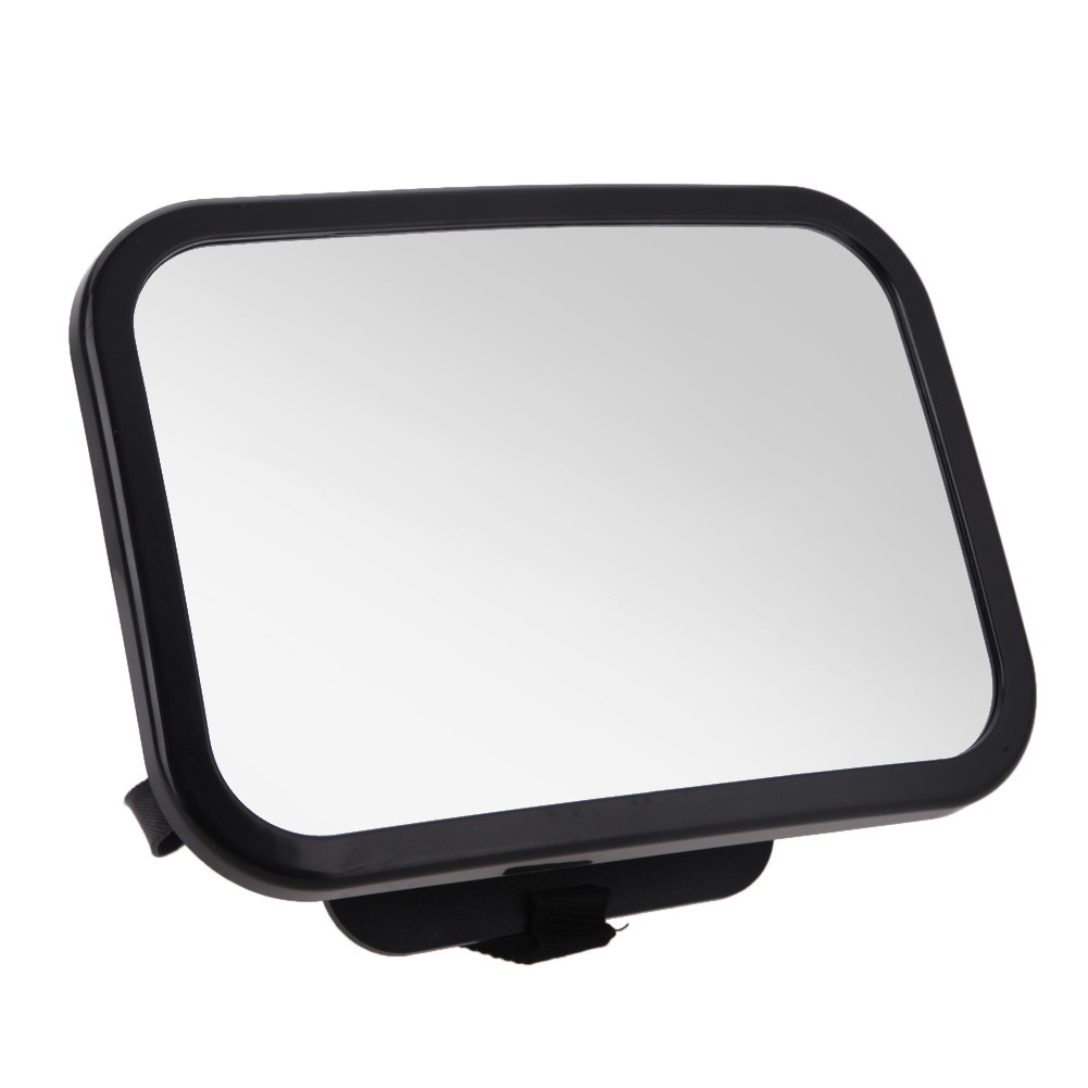 LARGE ADJUSTABLE VIEW REAR//BABY//CHILD SEAT CAR SAFETY MIRROR HEADREST MOUNT  TI