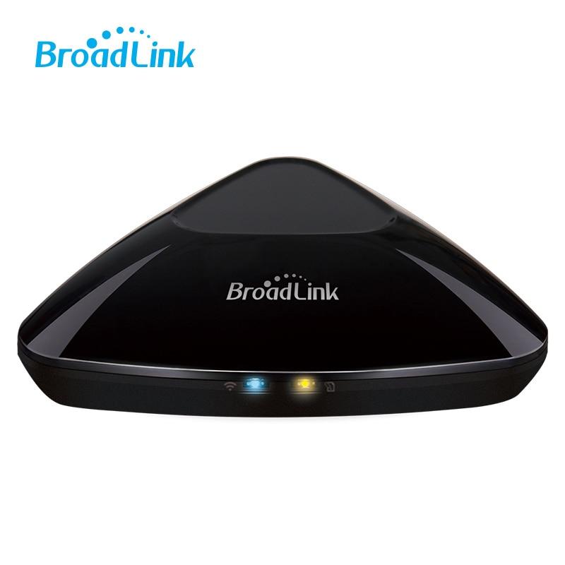 imágenes para Más reciente Broadlink RM03 RMPro Universal control controlador IR RF control remoto inteligente wifi 3G 4G ios Android APP control inalámbrico