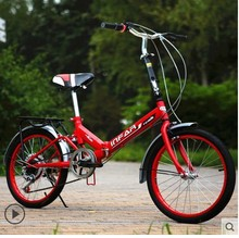 road bike mountain bicycle Male and female student car  20 inch  Gear shift/ single speed / folding /Less shock / shock bicycle