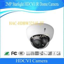 Free Shipping DAHUA CCTV Security Camera 2MP Full HD Starlight HDCVI IR Dome Camera IP67 IK10 without Logo HAC-HDBW3231E-ZT
