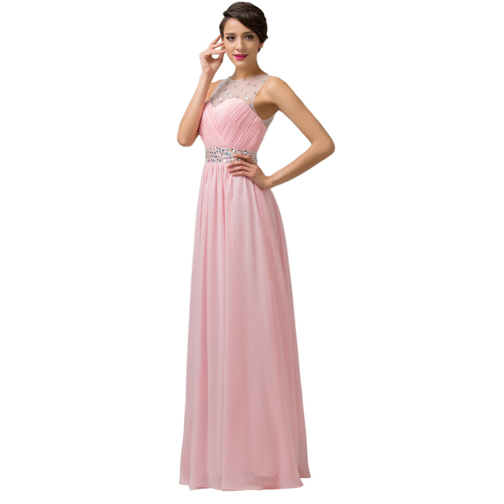 Grace Karin Cheap Pink Purple Bridesmaid Dresses Under $50, Long Backless Designer Wedding Guest Dress For Bridemaid Party 6112 7