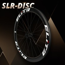 Elite SLR 700c Gravel Cyclocross Wheelset Bicycle Tubular Clincher Tubeless Low Resistance Disc Brake Hub Carbon Road Bike Wheel free shipping carbon disc wheel road disc wheel bicycle wheel 700c cycling track disc wheels