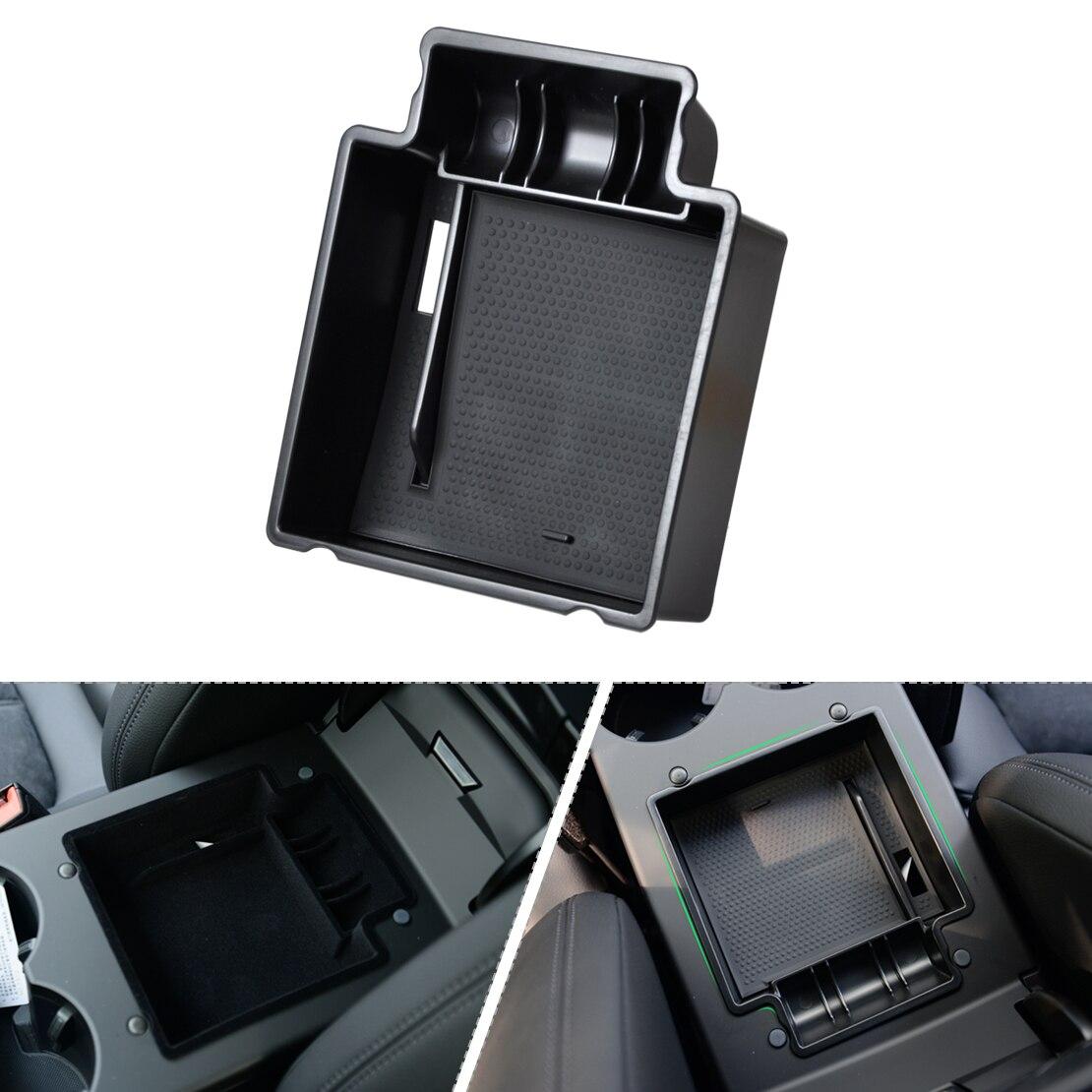 DWCX 1pc Car Glove Box Armrest Secondary Storage Box For Porsche Macan 2006 2007 2008 2009 2010 2011 2012 2013 2014 2015