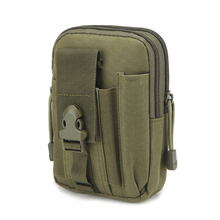 купить Tactical Compact Cell Phone Waist Bag Pack Military Molle Pouch Belt Clip Holster EDC Utility Gadget Waist Bag Olive Drab дешево