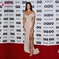 Bella Hadid Sexy Off-ombro vestido de Noite do baile de Finalistas Vestido GQ Model of the Year Award Celebridade Longo Vestidos vestido de festa