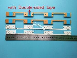 20 peças 4 leds * 6 v barra de retroiluminação led para konka 39 polegadas tv kdl39ss662u 35018339 konka 40 polegadas kdl40ss662u 35019864 327mm
