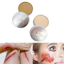 Halloween Makeup Fake Wound blood Scar Wax Special Effects Party Makeup Cosplay Costume Body Paint Stage Maquillaje Carnaval все цены
