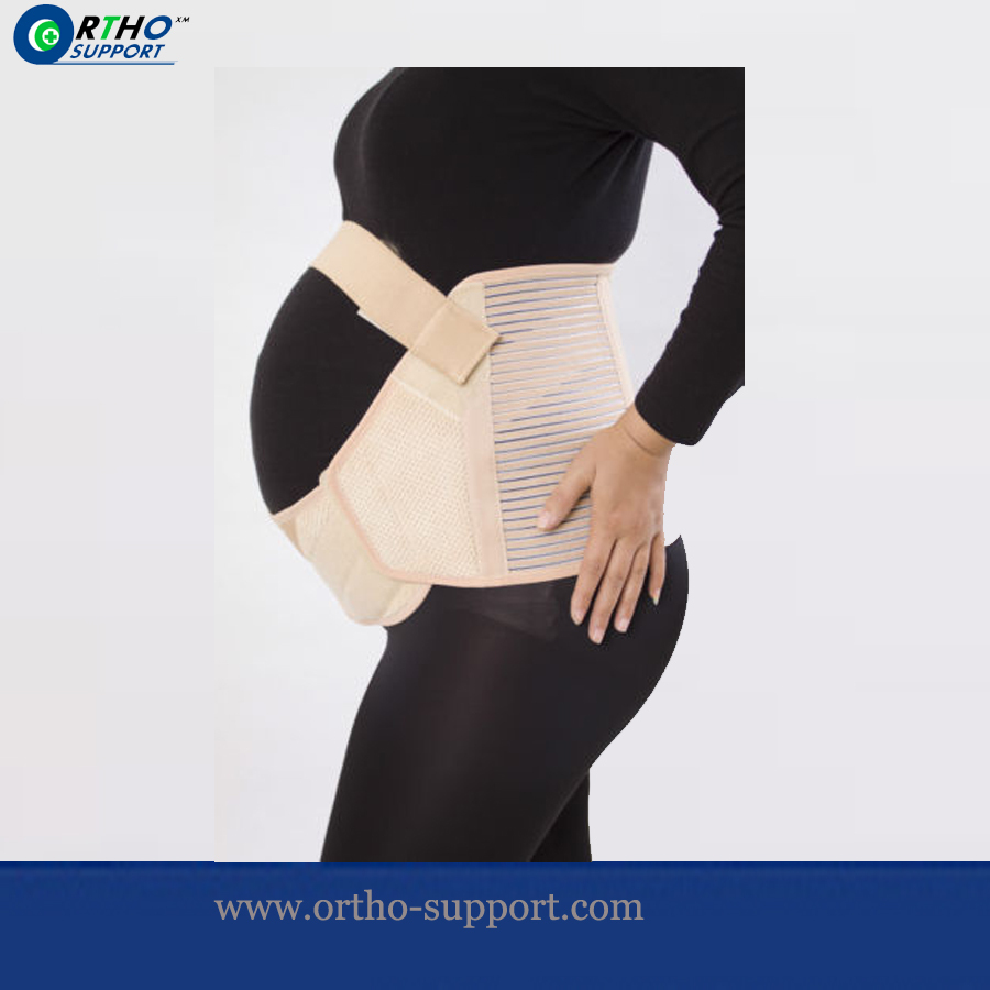 Deluxe Maternity Belt Gravida Waist Support Belts Pregnancy Women Abdominal Braces Baby Bump Back Belly Strap pregnant women belt after pregnancy support belt belly corset postpartum postnatal girdle bandage after delivery birth shaper