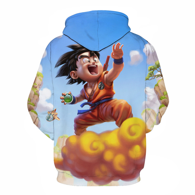 Dragon Ball Z 3D Hooded Pullover