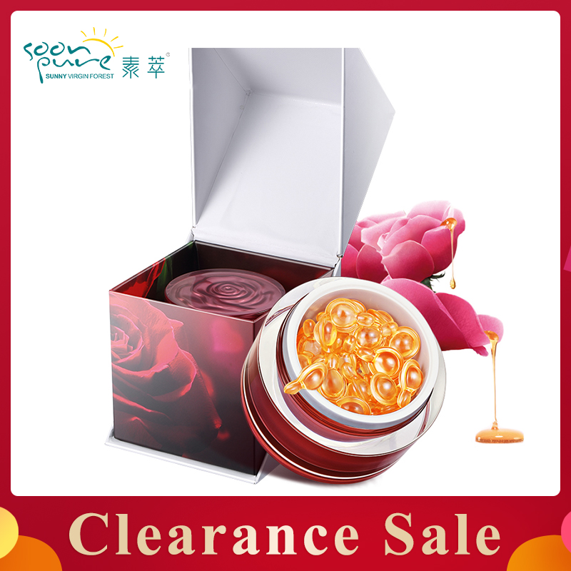 Clearance Sale!SOONPURE Extra Firming Wrinkle Lifting Rose Essence Face Cream Skin Care Whitening Reverse Aging Repair Serum