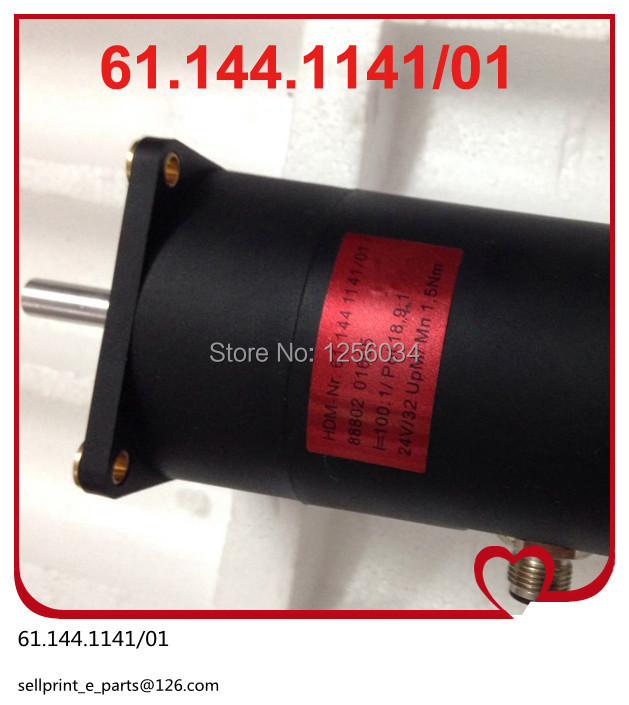 2 pieces free shipping motor for heidelberg SM102 and CD102 61.144.1141/01, motor 61.144.1141