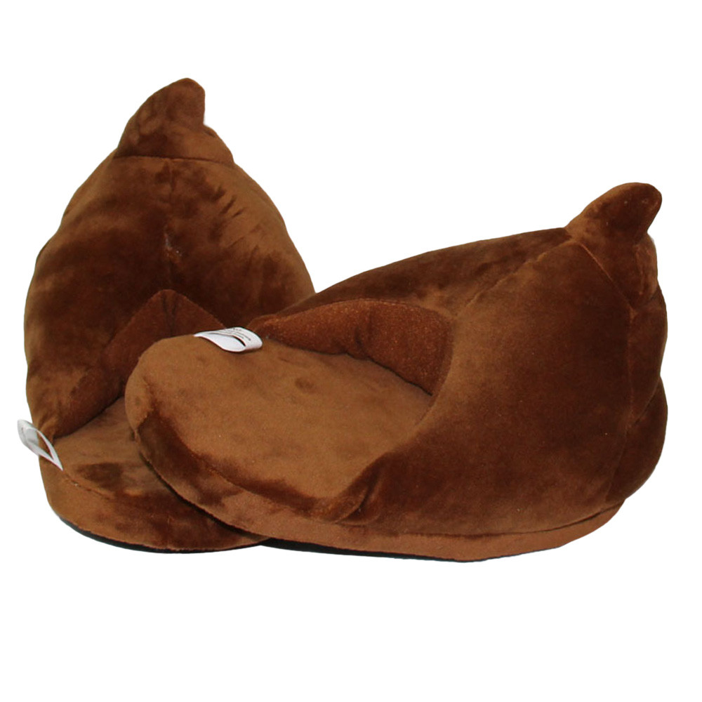 Poop Emoji Slippers 4