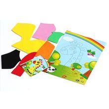 10PCS  Multi-patterns 3D EVA Foam Sticker DIY Cartoon Animal Puzzle For Children Kids Styles Education Toys
