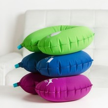 Fashion TPU inflatable U pillow Office nap 47*33cm