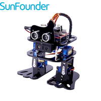 SunFounder DIY 4 DOF Robot Kit Sloth Learning Kit For Arduino Nano