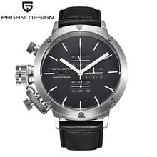 Relogio masculino 2016 de luxe marque pagani design quartz-montre hommes unique et novateur sport montres multifonction plongée horloge hommes