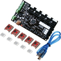 MKS Gen V1.4 integrated mainboard compatible with 5 pcs A4988