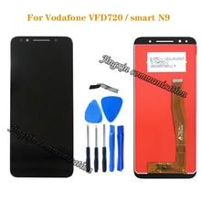 5.5 para a Vodafone VFD720 N9 Inteligente LTE LCD Screen display Toque Digitador Assembléia para vfd 720 100% Brand New peças de Reparo do LCD