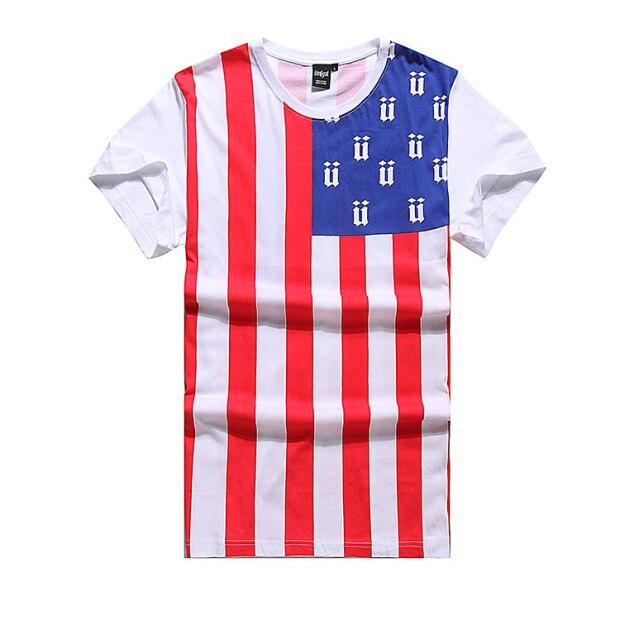 f370014a57 2015 American Style Brand Swag Clothes US Flag Printed Men Bandana Shirt  Sport Skateboard Streetwewar Fitness Camiseta Masculina