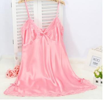 Sexy Silk Nightdress