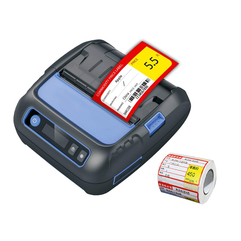 NETUM Bluetooth Thermal Receipt Label Printer 3 1 8 80mm Android iOS Printer Small Business POS