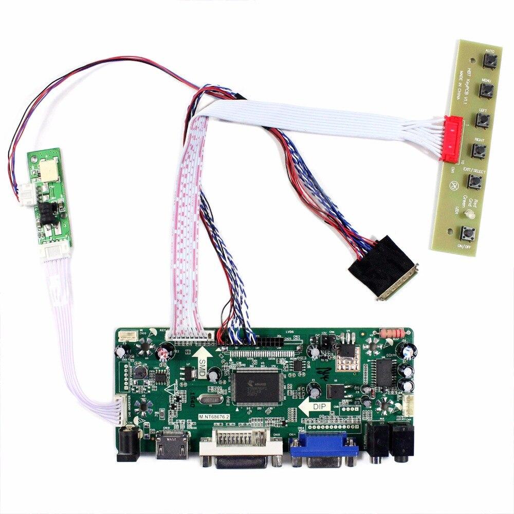 HDMI DVI VGA Audio LCD Controller Board For 11.6 B116XAN02.3 1366x768 LCD Panel m nt68676 lcd led controller driver board for b116xw01 v 0 hdmi vga dvi audio 1366 768 pc