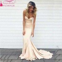 Mermaid Evening Dress Sweetheart Spandex Elegant Charming Prom Bridemaid dress Wedding Guest Dress Long Dress Z020