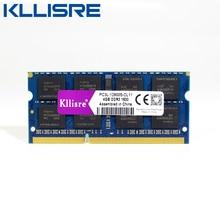 Kllisre ddr3l sodimm 4 ГБ 8 ГБ 1333 МГц или 1600 МГц 1,35 V PC3L ноутбук оперативная память 4GB 8GB