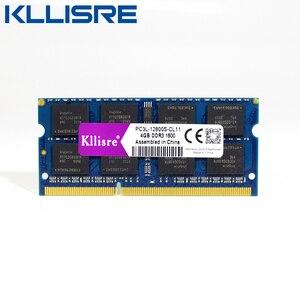 Image 1 - Kllisre ddr3l sodimm 4GB 8GB 1333 MHz או 1600 MHz 1.35 V PC3L מחשב נייד ram זיכרון