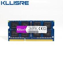 Kllisre ddr3l sodimm 4GB 8GB 1333 MHz o 1600 MHz 1,35 V PC3L portátil ram de memoria