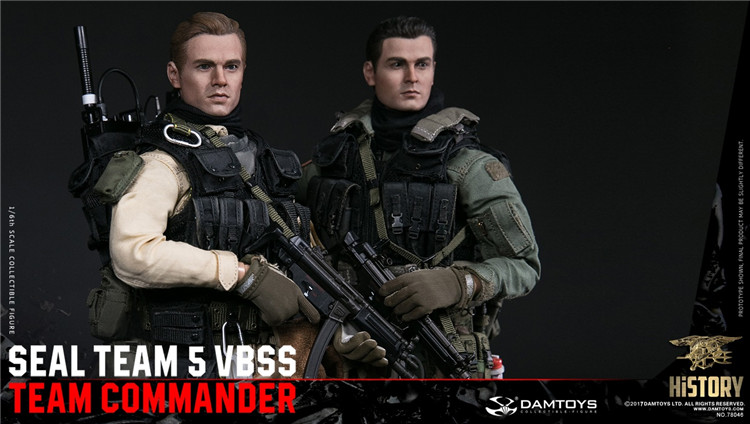 For Collection Solider Action Figure full set 1/6 78046 78045 HISTORY SERIES US SEAL TEAM 5 VBSS TEAM LEADER image
