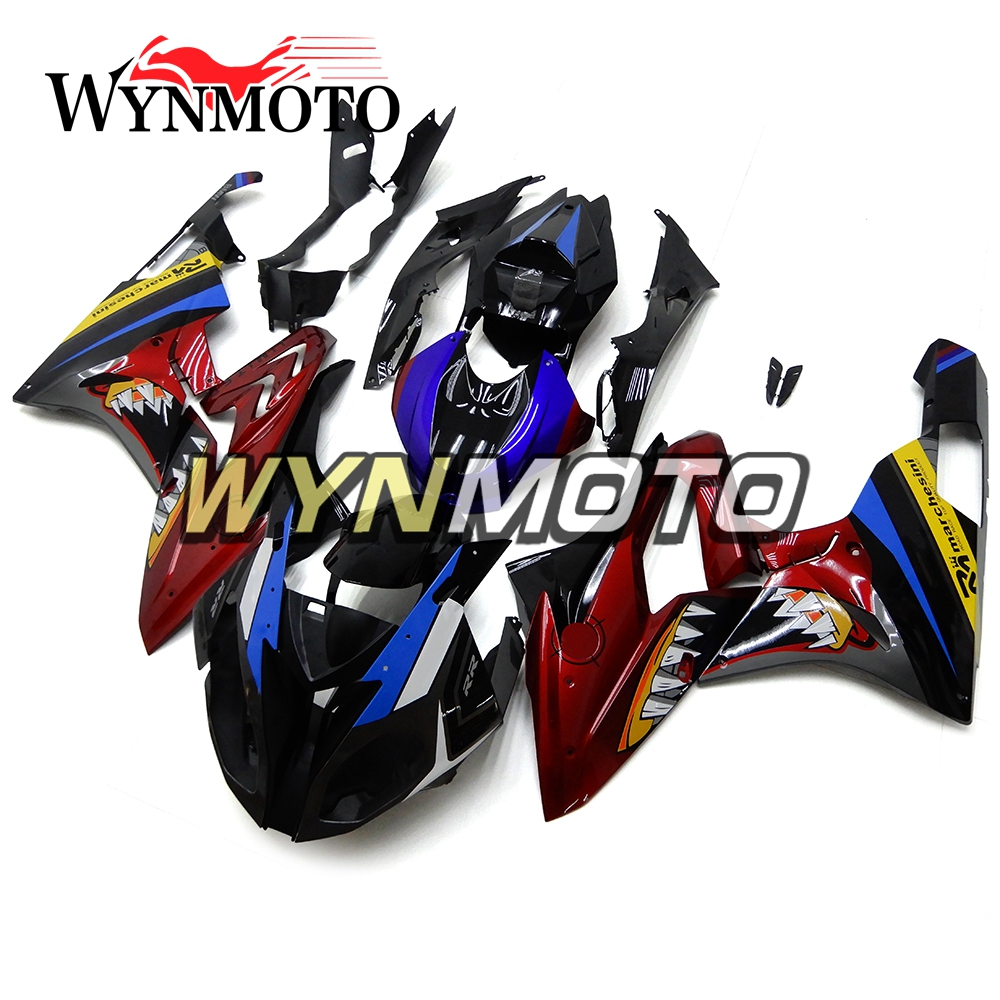 Frames & Fittings Complete Abs Plastic Injection Matte Black Red New Motorcycle Fairings For Honda Cbr1000rr 2017 Year Model Sportbike Cowlings
