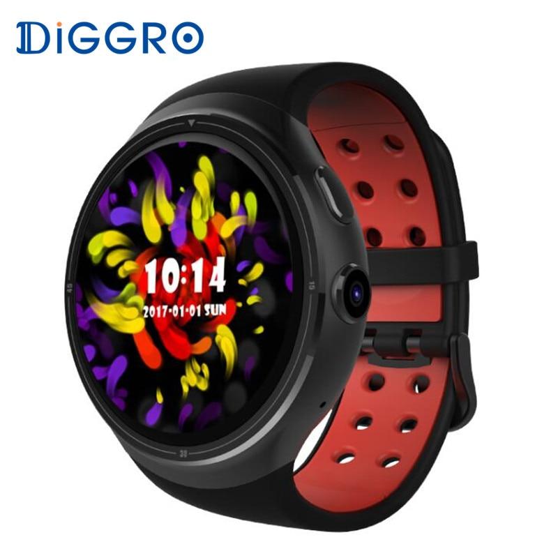 все цены на DIGGRO DI06 1GB/16GB Smartwatch Android 5.1 MTK6580 GPS 3G WIFI Bluetooth 4.0 Smart Watch Support SIM Card for Android IOS онлайн