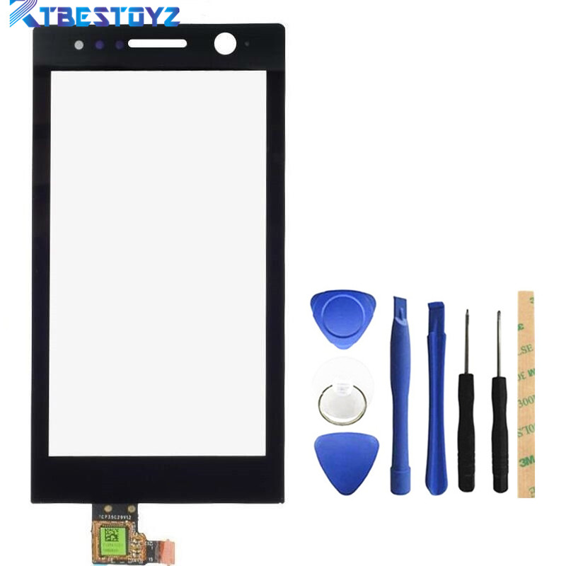 RTBESTOYZ 3.5 inch Black Touch Screen For <font><b>Sony</b></font> Xperia U ST25i Touch Screen Digitizer Glass Panel Replacement Parts image