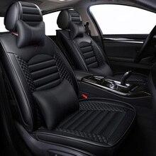 Giày Da Hoạt Hình Nệm ghế ngồi Xe ô tô cho xe Nissan Teana J31 J32 terrano 2 Tiida wingroad X TRAIL T30 T31 T32 xtrail 2018