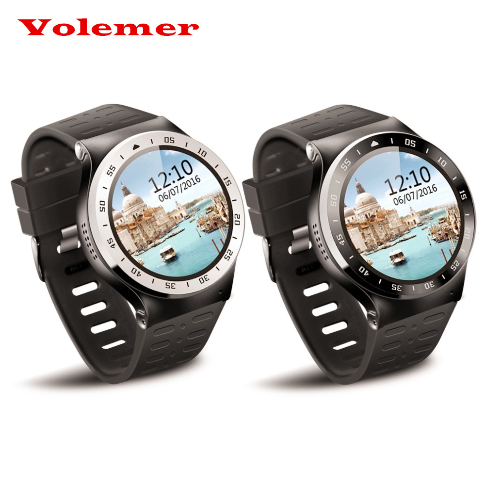 Volemer S99A Bluetooth Version 4.0 Smartwatch 3G 1.33 inch Round Screen Support SMS, MMS ect. Android 5.1 WiFi GPS with Camera 16 ports 3g sms modem bulk sms sending 3g modem pool sim5360 new module bulk sms sending device