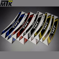 MTKRACING 8X For YAMAHA MT 07 MT 09 MT 10 MT 03 MT 25 Motorcycle Inner Rim Decals Wheel Sticker Stickes Strips