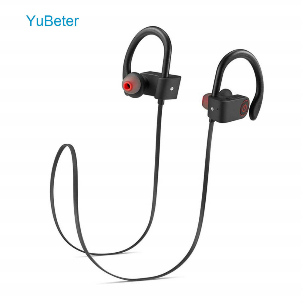 YuBeter Wireless Bluetooth Earphones Earbuds Sport Neckband Wireless Earphone Built-in Mic Sweatproof Noise Reduction Earpieces